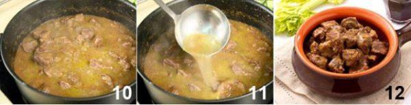 Cách nấu món bò hầm rượu vang.