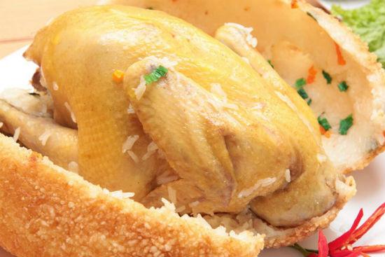Món gà không lối thoát