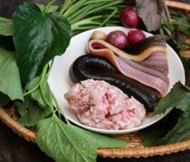 Chả lươn cuốn lá lốt - đậm đà hương vị thơm ngon