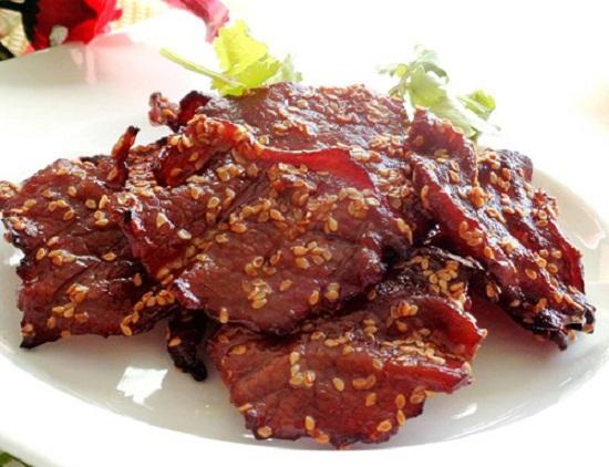 Món thịt bò khô không cần lò nướng hấp dẫn.