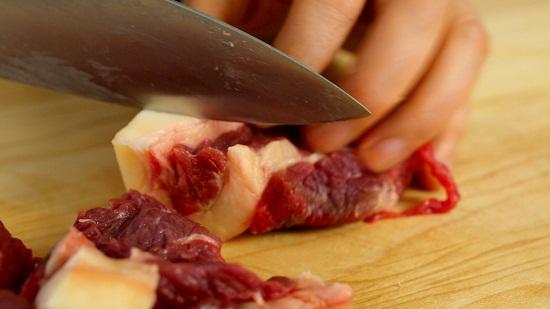 Thái thịt bò.