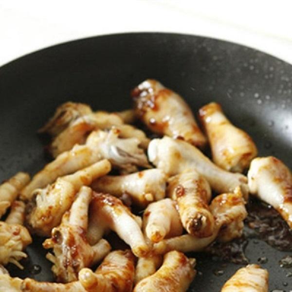 Cách làm chân gà om xì dầu