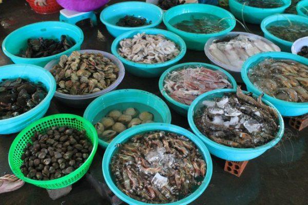 Cách chọn mua hải sản ngon.