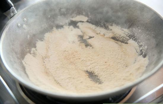 Rang bột gạo.