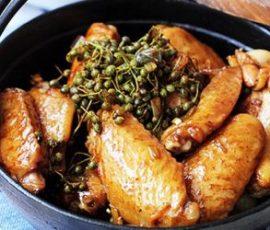 Cánh gà xào tiêu món ăn ngon và hấp dẫn cho cả nhà cùng thưởng thức