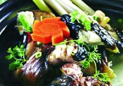 món ngon lươn hầm sả - ngọt béo đậm đà