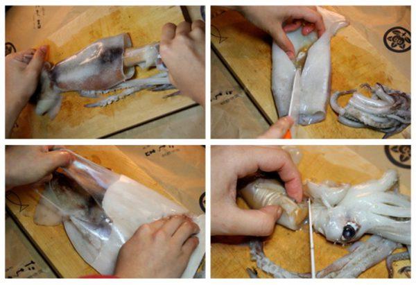 Cách làm sạch mực