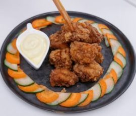 Thịt gà chiên giòn món ăn ngon hấp dẫn mà đơn giản
