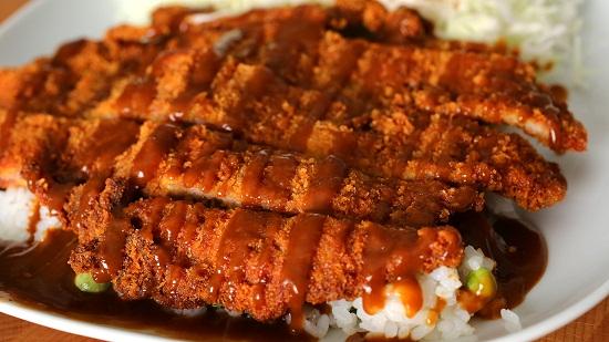 Thịt heo cốt lết kiểu Hàn ngon hấp dẫn.