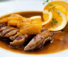 Thịt vịt xốt cam ngon và lạ miệng cho bữa tối hấp dẫn