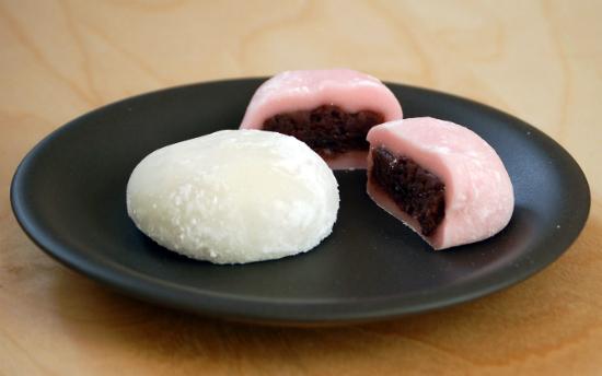 Bánh Mochi nhân đậu đỏ