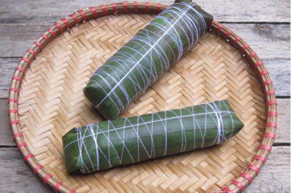 Sử dụng dây quấn quanh dọc theo thân bánh