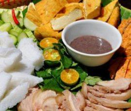 Bún đậu mắm tôm ngon chuẩn hương vị Hà Nội
