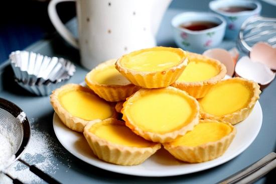 Bánh trứng vàng ươm béo ngậy