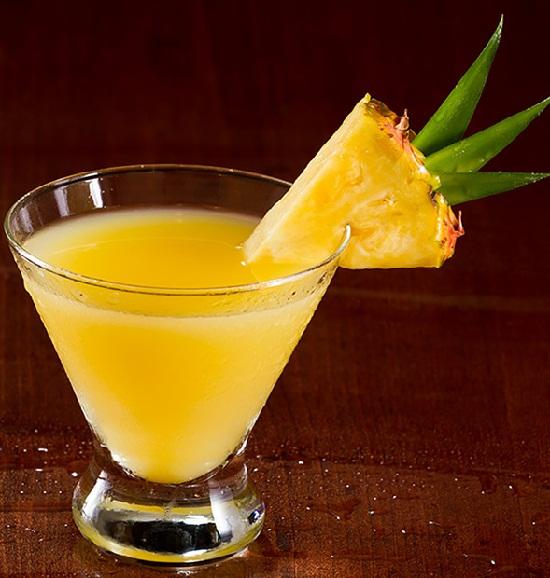 Cocktail dứa chanh mát lạnh giải nhiệt