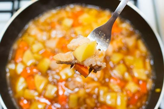 Canh khoai tây thịt heo ngon bổ dưỡng