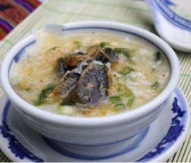 Cháo lươn thơm lừng bổ dưỡng cho mẹ bầu