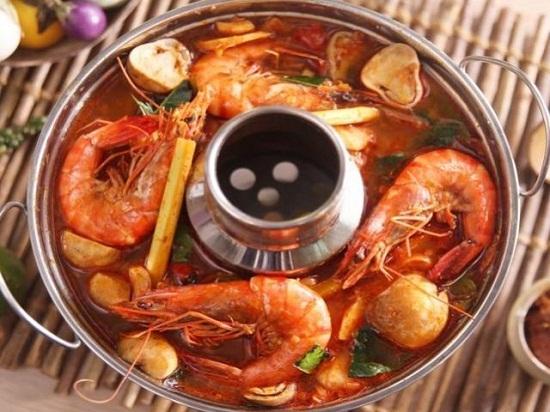 Món lẩu Thái chua cay ngon tuyệt