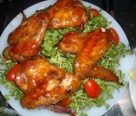 Cánh gà chiên nước mắm tỏi đơn giản mà ngon