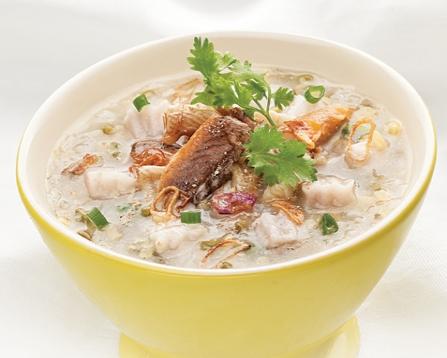 Món cháo lươn môn vị lạ ngọt miệng