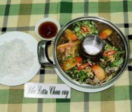 Cách nấu lẩu lươn chua cay, chỉ nghe đã phát thèm