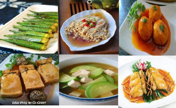 Món ăn chay ngon đơn giản mà hấp dẫn
