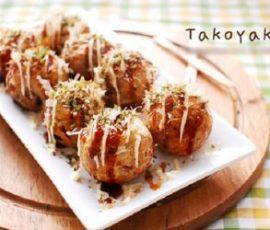 Bánh Takoyaki Nhật Bản với cách làm đơn giản