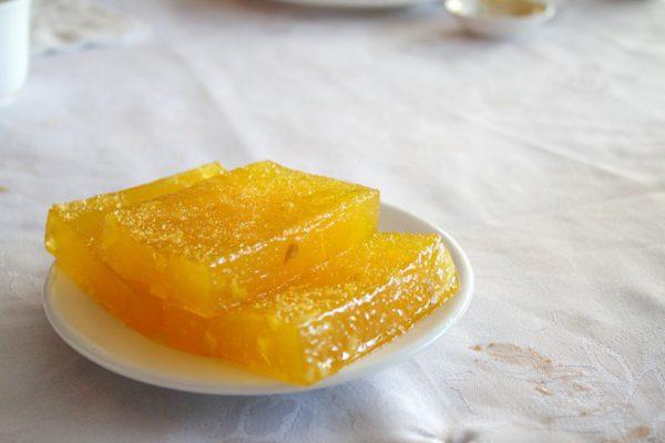Bánh củ năng nước dừa dẻo ngon ngọt mát