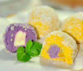 Bánh Mochi khoai lang chay mới lạ và hấp dẫn