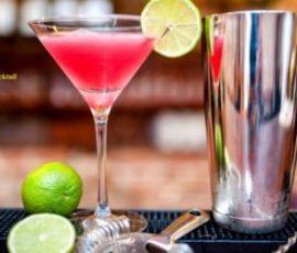 Cocktail Cosmopolitan hấp dẫn cho ngày hè