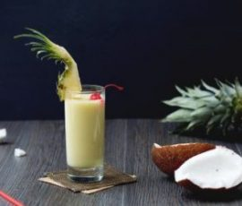 Cocktail Pina Colada hương vị thơm mát độc đáo