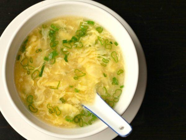 Món súp trứng Quảng Đông