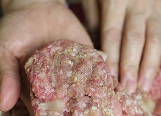 Nặn thịt bò thành viên