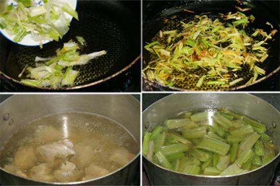 Cách nấu canh Atiso sườn
