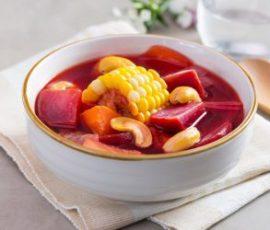 Canh rau củ chay ngọt lành và thanh đạm