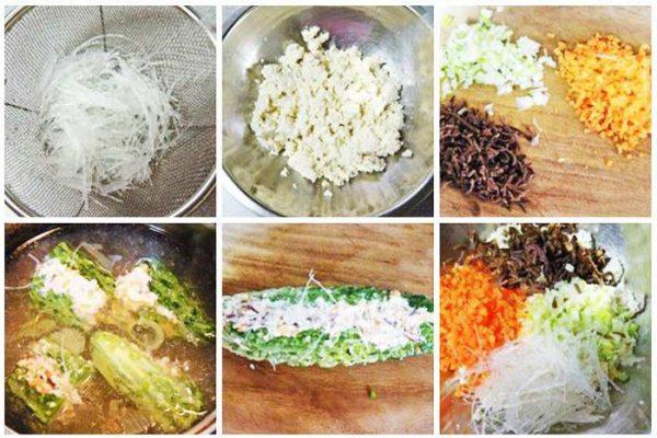 Cách nấu canh khổ qua chay
