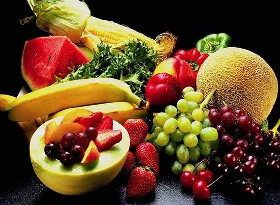 Mẹ bầu nên ăn trái cây và rau quả