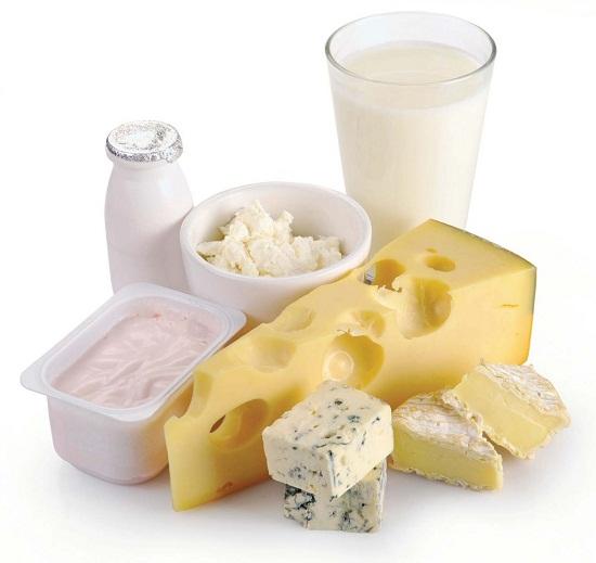 Sữa và chế phẩm từ sữa