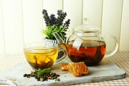 Chè xanh pha mật ong tốt cho sức khỏe