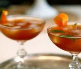 Cocktail trà đen với rượu whisky cực kỳ hấp dẫn
