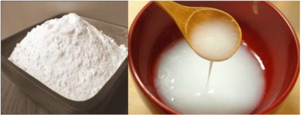 Nước bột gạo củ mài
