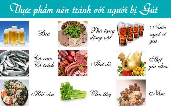 Một số thực  phẩm người bị gút nên tránh