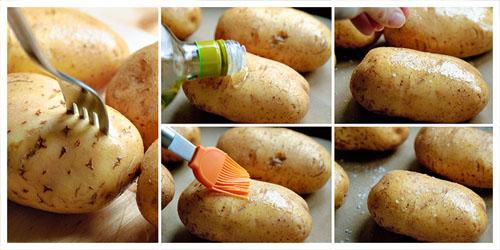 Sơ chế khoai tây
