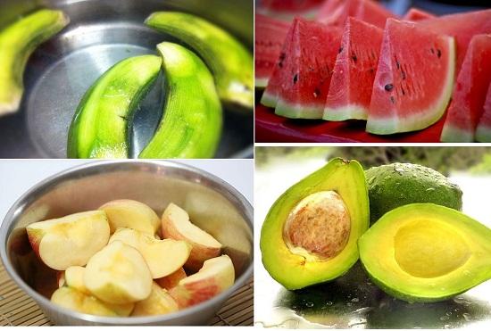 Mẹo giữ hoa quả tươilâu