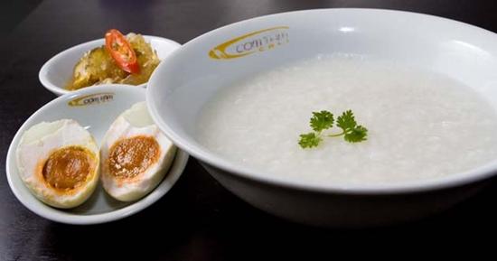 Món cháo gạo nếp