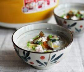 Cháo tôm thịt đơn giản thơm ngon và bổ dưỡng