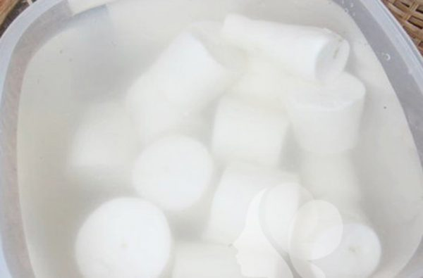 Tẩy trắng khoai mì