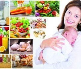 Món ăn có lợi cho phụ nữ sau sinh