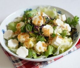 Salad đậu hũ chay thanh mát giải nhiệt ngày nắng