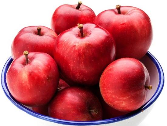Đối với táo